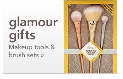 glamour gifts, makeup tools and brushes
