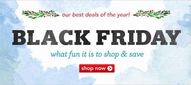 Black Friday our best deals of the year