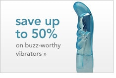 save up to 50% on buzz-worthy vibrator deals