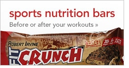 sports nutrition bars