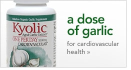 a dose of garlic for cardiovascular health