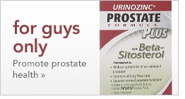 for guys only | promote prostate health