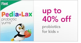 up to 40% off probiotics for kids
