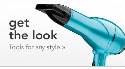 get the look, tools for any style