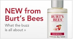 New from Burt's Bees, what the buzz is all about