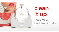 clean it up, keep your baubles bright