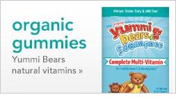 Organic Gummies | Yummi Bears natural vitamins