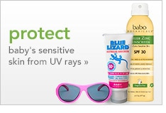 protect baby's sensitive skin from UV rays