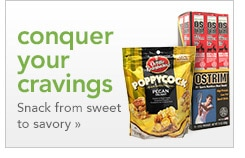 conquer your cravings | snack from sweet to savory