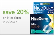save 20% on Nicoderm products