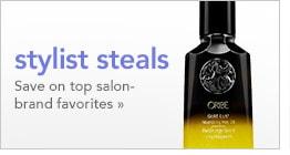 stylist steals, save on top salon-brand favorites