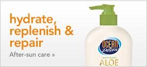hydrate, replenish & repair | after-sun care