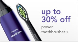 up to 30% off power toothbrushes