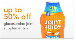 up to 50% off glucosamine joint supplements