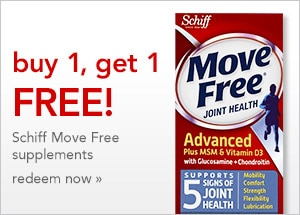 The Schiff Move Free BOGO event ends 9/24/16 | redeem now