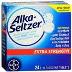 Alka-Seltzer Extra Strength Antacid & Pain Relief, Effervescent Tablets