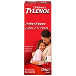 Children's Tylenol Pain & Fever, Ages 2-11, Cherry Blast