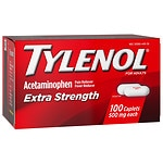 Tylenol Extra Strength Pain Reliever & Fever Reducer, 500 mg Caplets