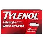 TYLENOL Extra Strength Pain Reliever & Fever Reducer 500 mg, Caplets- 100 ea