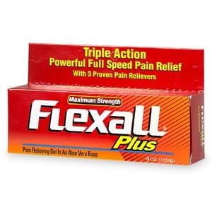 Flexall Plus Maximum Strength Pain Relieving Gel- 4 oz
