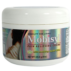Mobisyl Maximum Strength Arthritis Pain Relief Creme, with Aloe Vera- 8 oz