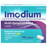 Imodium Advanced Multi-Symptom Relief Caplets- 18 ea