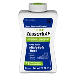 Zeasorb Super Absorbent Powder Antifungal Treatment, Athlete's Foot- 2.5 oz