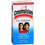 Creomulsion Soothing Cough Syrup for Children, Cherry
