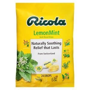 Ricola Natural Herb Cough Drops, Lemon Mint&nbsp;