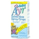 Ayr Baby's Saline Nose Spray, Drops