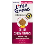 Little Remedies for Noses Saline Spray/Drops- 1 fl oz