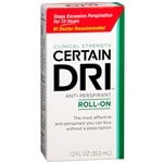 Certain Dri Antiperspirant Roll-On for Excessive Perspiration