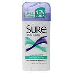 Sure Original Solid Antiperspirant & Deodorant, Unscented