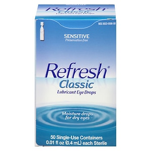 Refresh Classic, Lubricant Eye Drops- 50 ea