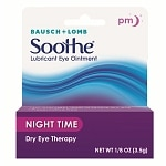 Soothe Lubricant Eye Ointment, Night Time- .12 oz