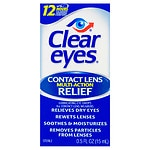Clear eyes Contact Lens Relief Soothing Eye Drops