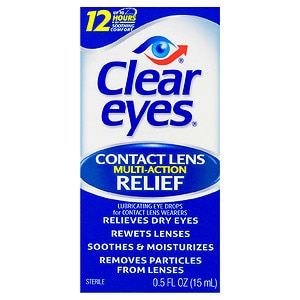 Clear eyes Contact Lens Relief Soothing Eye Drops- .5 fl oz