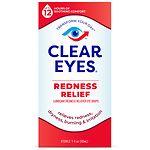 Clear eyes Redness Relief Eye Drops- 1 fl oz