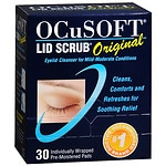 Ocusoft Lid Scrub Original, Individually Wrapped Pre-Moistened Pads
