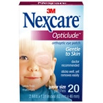 Nexcare Opticlude Orthoptic Eye Patches, Junior Size
