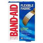 Band-Aid Flexible Fabric Bandages, 3/4 Inch- 30 ea