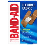 Band-Aid Flexible Fabric Bandages, Assorted