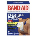 Band-Aid Flexible Fabric Adhesive Bandages, Knuckle & Fingertip