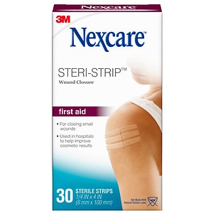 Nexcare Steri-Strip Skin Closure Adhesive Surgical Tape Strip