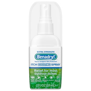 Benadryl Itch Relief Spray, Extra Strength- 2 fl oz