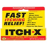 Itch-X Fast-Acting, Anti-Itch Gel with Soothing Aloe Vera- 1.25 oz
