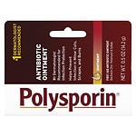 Polysporin First Aid Antibiotic Ointment- .5 oz