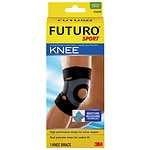 FUTURO Sport Moisture Control Knee Support, Medium- 1 ea