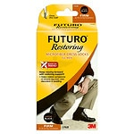 FUTURO Restoring Dress Socks for Men, Firm, Black, X-Large