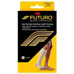 FUTURO Therapeutic Support Open Toe/Heel, Knee High, Firm
